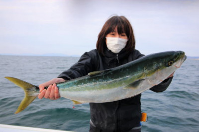 西岡遊漁の2021年2月24日(水)2枚目の写真