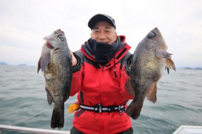 西岡遊漁の2021年2月25日(木)2枚目の写真