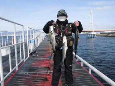 尼崎市立魚つり公園の2021年2月27日(土)1枚目の写真