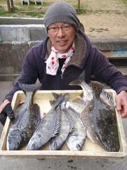 村櫛フィッシング沖の2021年2月27日(土)2枚目の写真