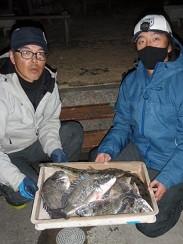 村櫛フィッシング沖の2021年2月27日(土)4枚目の写真
