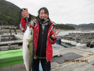 由良海つり公園&釣堀ランドの2021年2月28日(日)2枚目の写真