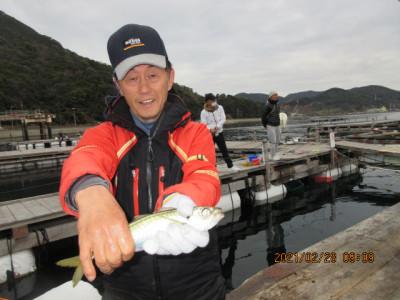 由良海つり公園&釣堀ランドの2021年2月28日(日)4枚目の写真