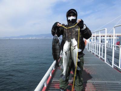 尼崎市立魚つり公園の2021年2月28日(日)2枚目の写真