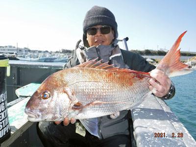 第一大漁丸の2021年2月28日(日)1枚目の写真