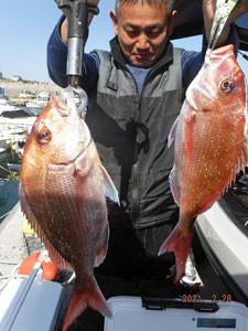 第一大漁丸の2021年2月28日(日)2枚目の写真