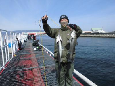 尼崎市立魚つり公園の2021年3月1日(月)3枚目の写真