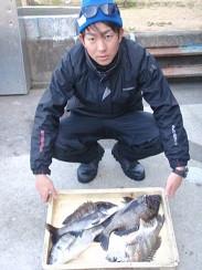 村櫛フィッシング沖の2021年2月28日(日)2枚目の写真