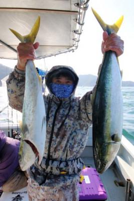 西岡遊漁の2021年2月28日(日)5枚目の写真
