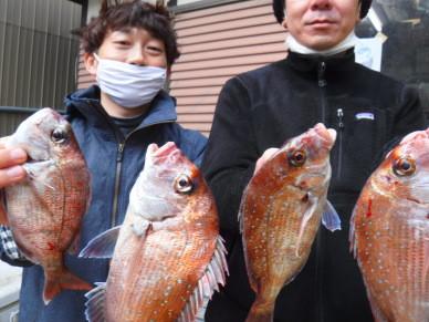 奥村釣船の2021年2月28日(日)1枚目の写真