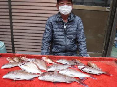 奥村釣船の2021年3月1日(月)3枚目の写真