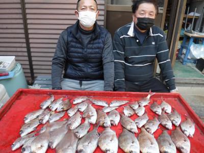奥村釣船の2021年3月6日(土)1枚目の写真