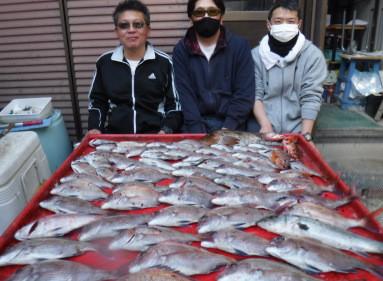 奥村釣船の2021年3月6日(土)4枚目の写真