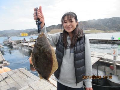 由良海つり公園&釣堀ランドの2021年3月20日(土)2枚目の写真