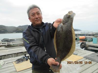 由良海つり公園&釣堀ランドの2021年3月20日(土)3枚目の写真
