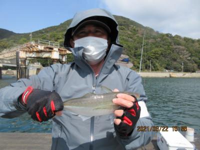 由良海つり公園&釣堀ランドの2021年3月22日(月)1枚目の写真