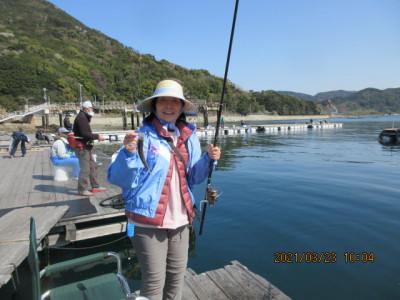 由良海つり公園&釣堀ランドの2021年3月23日(火)1枚目の写真