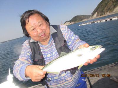 由良海つり公園&釣堀ランドの2021年3月23日(火)2枚目の写真