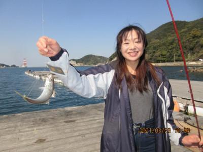 由良海つり公園&釣堀ランドの2021年3月23日(火)3枚目の写真