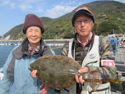 由良海つり公園&釣堀ランドの2021年3月24日(水)1枚目の写真