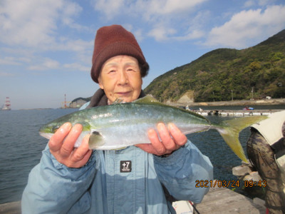 由良海つり公園&釣堀ランドの2021年3月24日(水)2枚目の写真