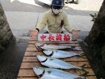 中長渡船の2021年3月24日(水)1枚目の写真