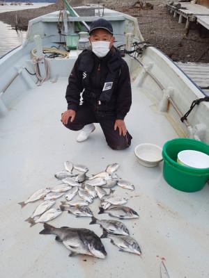 安乗釣センターの2021年3月24日(水)1枚目の写真