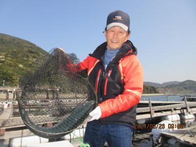 由良海つり公園&釣堀ランドの2021年3月26日(金)1枚目の写真