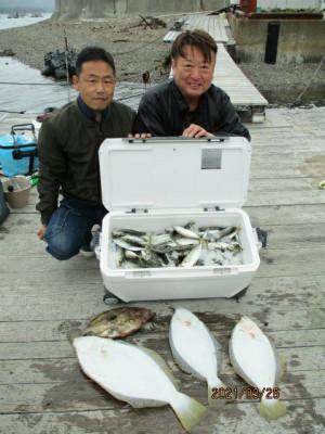 安乗釣センターの2021年3月25日(木)1枚目の写真