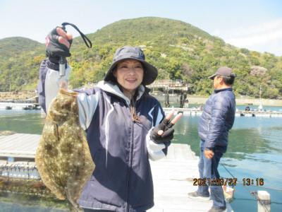 由良海つり公園&釣堀ランドの2021年3月27日(土)1枚目の写真