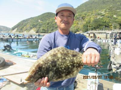 由良海つり公園&釣堀ランドの2021年3月27日(土)2枚目の写真