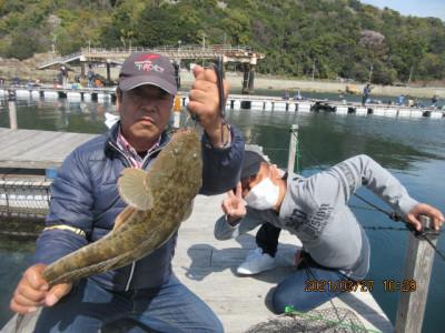 由良海つり公園&釣堀ランドの2021年3月27日(土)3枚目の写真