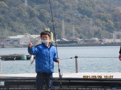 由良海つり公園&釣堀ランドの2021年3月29日(月)1枚目の写真