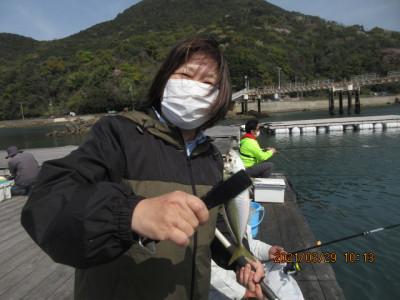 由良海つり公園&釣堀ランドの2021年3月29日(月)2枚目の写真
