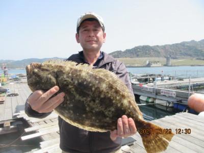 由良海つり公園&釣堀ランドの2021年3月29日(月)3枚目の写真