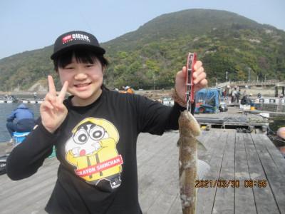 由良海つり公園&釣堀ランドの2021年3月30日(火)2枚目の写真