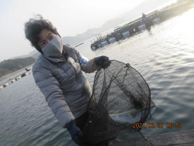 由良海つり公園&釣堀ランドの2021年3月30日(火)4枚目の写真
