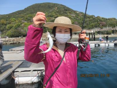 由良海つり公園&釣堀ランドの2021年3月31日(水)3枚目の写真