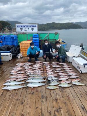 海上釣堀 辨屋の2021年4月2日(金)2枚目の写真