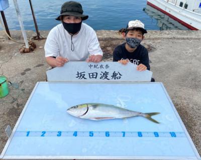 坂田渡船の2021年4月2日(金)1枚目の写真
