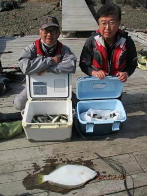 安乗釣センターの2021年4月2日(金)2枚目の写真