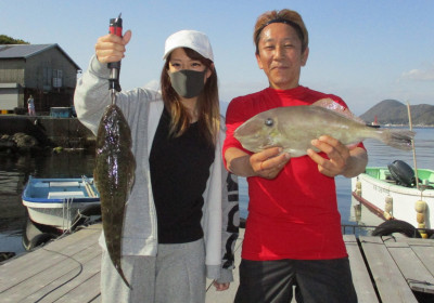 岩崎レンタルボート(岩崎つり具店)の2021年4月3日(土)1枚目の写真