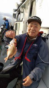 美浜釣舟センターの2021年4月3日(土)2枚目の写真