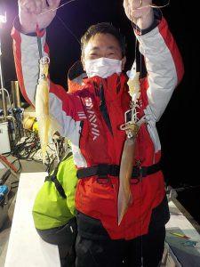 美浜釣舟センターの2021年4月3日(土)3枚目の写真