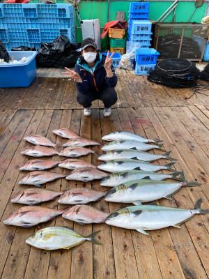 海上釣堀 辨屋の2021年4月3日(土)4枚目の写真