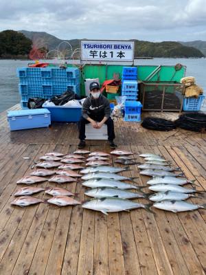 海上釣堀 辨屋の2021年4月3日(土)5枚目の写真