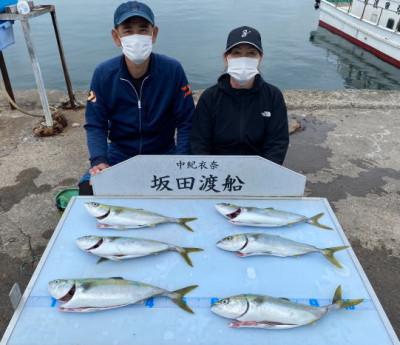 坂田渡船の2021年4月3日(土)2枚目の写真