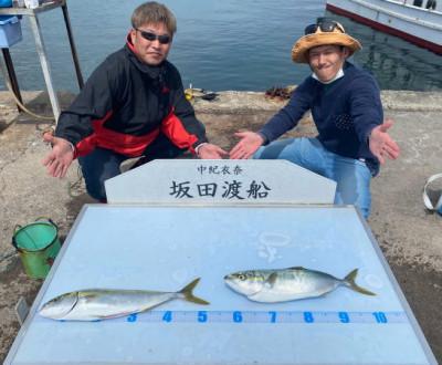 坂田渡船の2021年4月3日(土)3枚目の写真