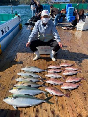 海上釣堀 辨屋の2021年4月5日(月)2枚目の写真