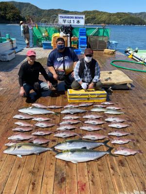 海上釣堀 辨屋の2021年4月7日(水)1枚目の写真